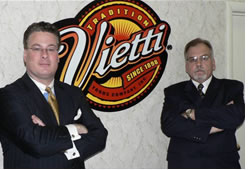 Vietti Foods executives Connelly and Johnson